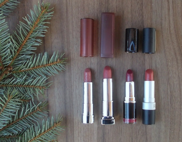 fall winter favorites matte lipstick
