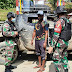 Satgas Yonif 512 Gelar Sweeping Guna Cegah Peredaran Barang Terlarang di Ujung Timur Indonesia