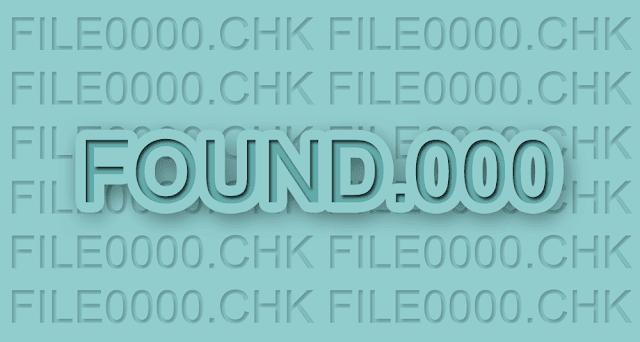Cara Mengembalikan File CHK