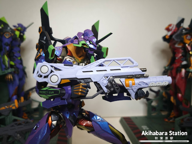 Review de Metal Build Eva-01 Test Type [EVA2020] de Evangelion - Tamashii Nations