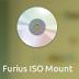Cara mengakses file image iso, nrg di Ubuntu Desktop dengan furius