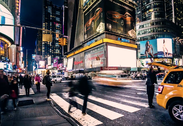 NEW YORK CITY TIMELAPSE VON LUMIXAR