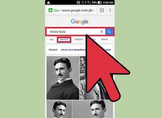البحث بالصور في غوغل