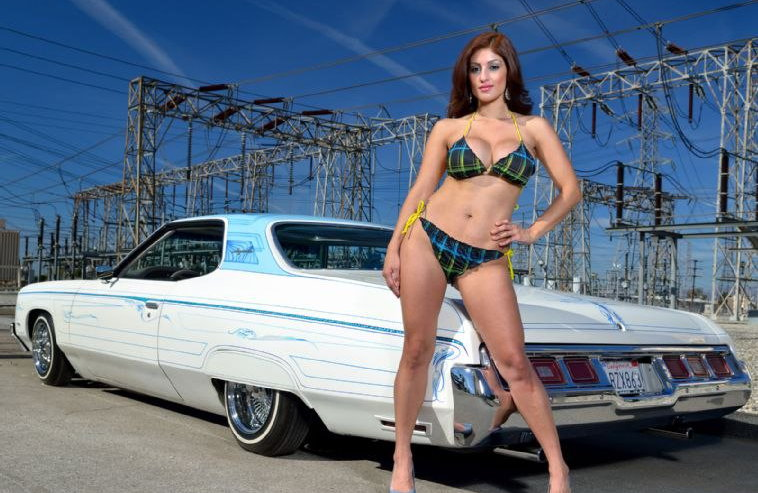 Sexy latina lowrider girls naked