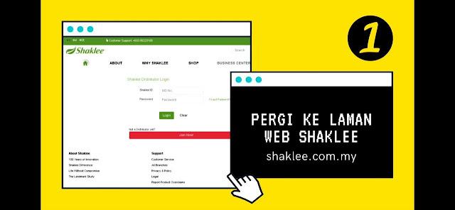 Cara-Cara Untuk Membuat Belian Melalui Website Shaklee | Winichelen Wongkin