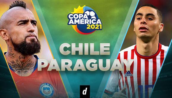 Paraguay vs. Chile EN VIVO en Brasilia en partido por la Copa América 2021