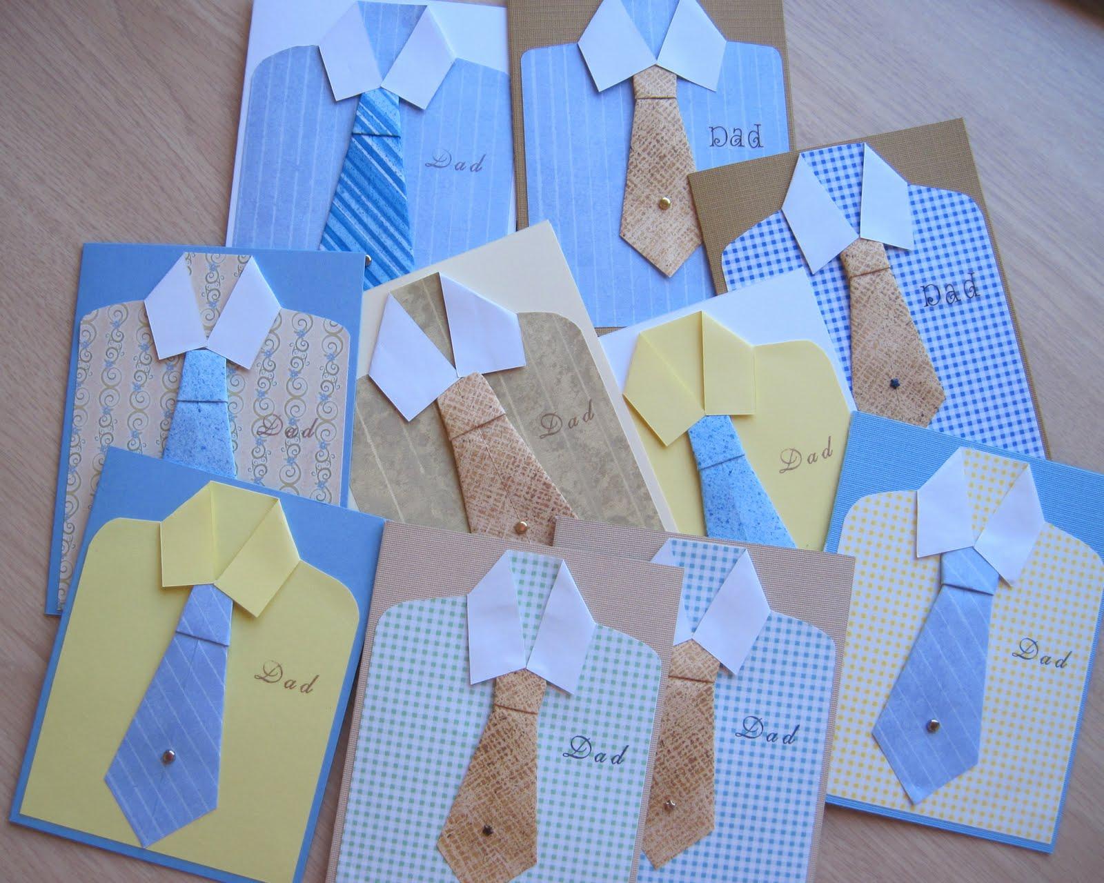 tie cards
