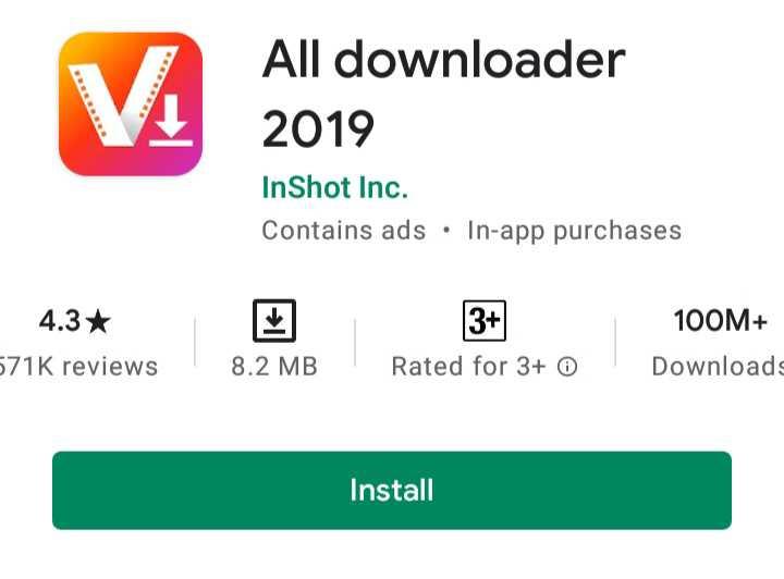 All Downloader 2019