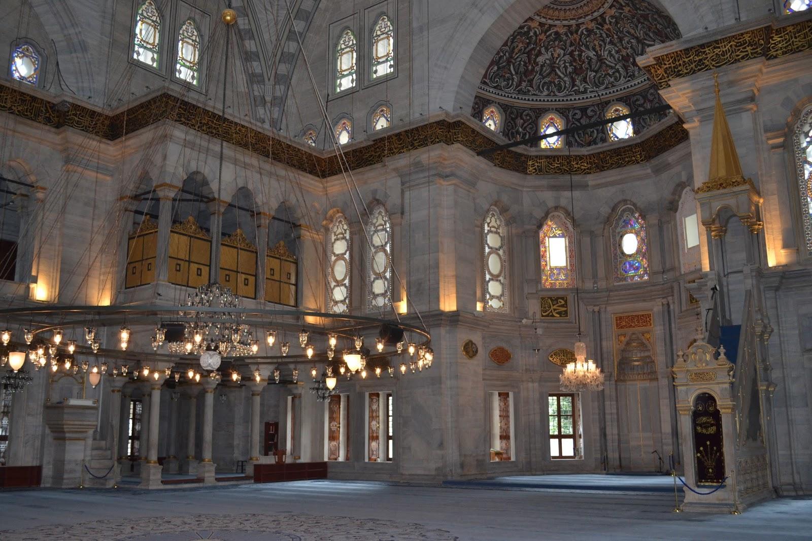 Istanbul, Turquie, mosquée