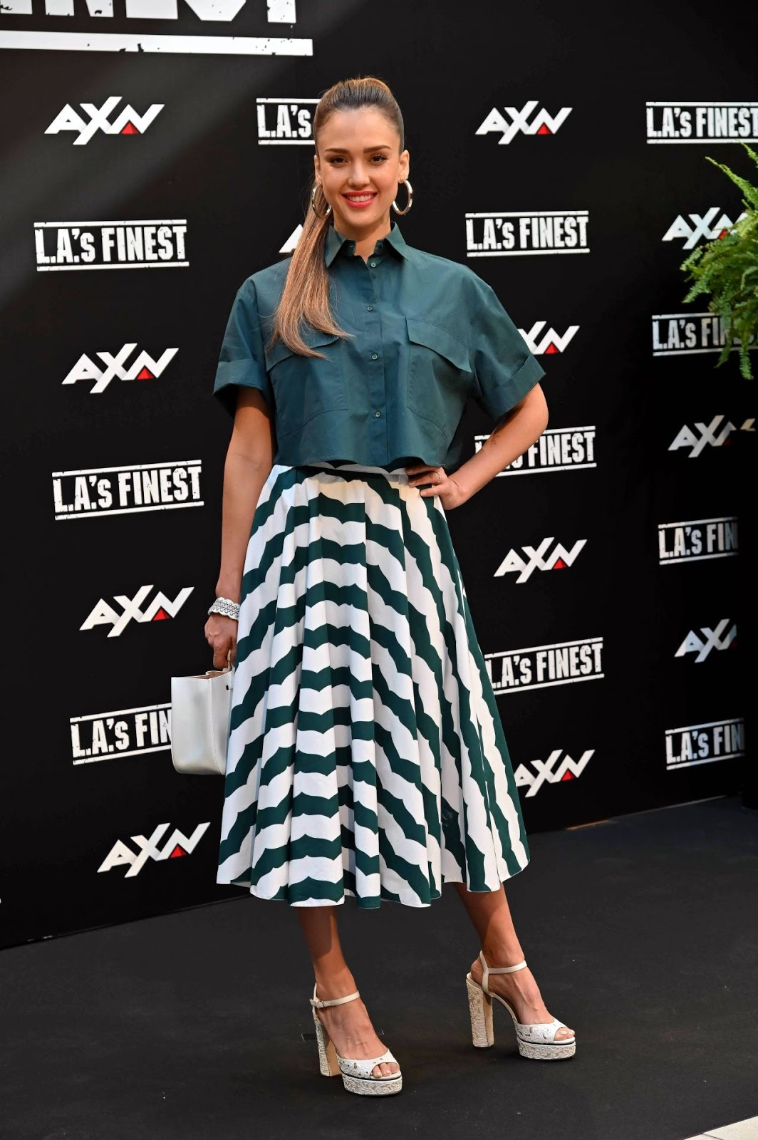 "Jessica Alba – ""L.A.'s Finest"" Photocall in Madrid"