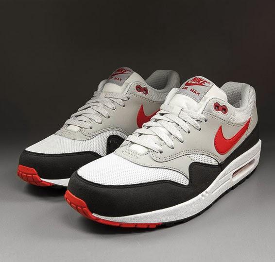 premium selection 5f410 4acbb Nike - Air Max 1 Essential - light bone chilling red-platinum grey