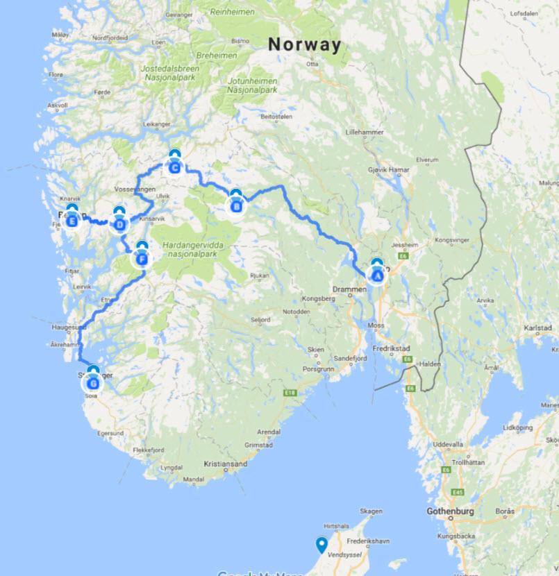 Karte Norwegen Dänemark.Kl Brüllen Noerdstrom Das Fazit Des Strom Teils Mit Dem Tesla