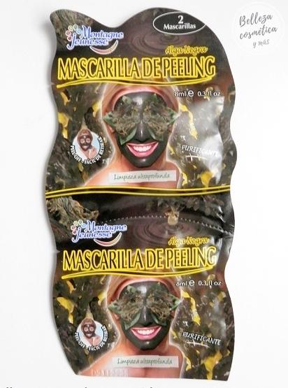 Mascarilla negra Montagne Jeunesse Mercadona