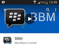 Update Cara Download BBM Di Tablet Android