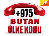 +975 Butan ülke telefon kodu