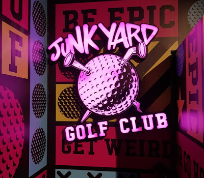Junkyard Golf opening in Newcastle upon Tyne