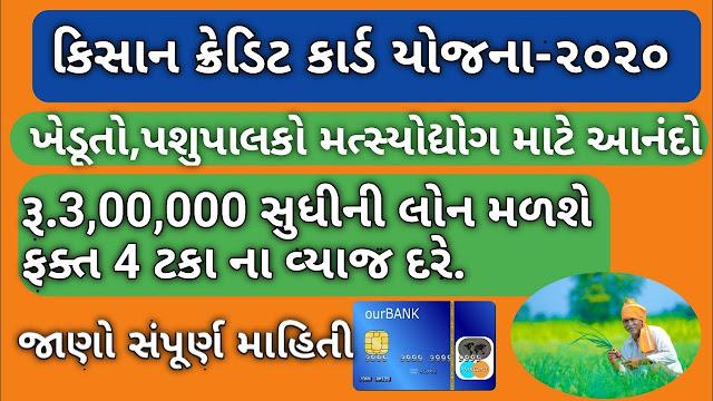 Kisan Credit Card (KCC) In INDIA: Get 3 Lakh Loan