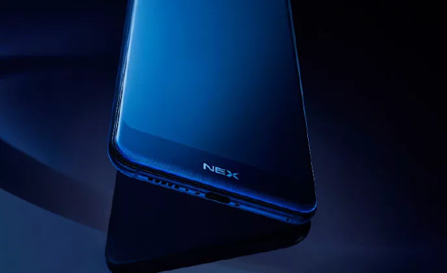 Vivo India Vivo NEX 5G Snapdragon 855 driven prototype displayed at a media event
