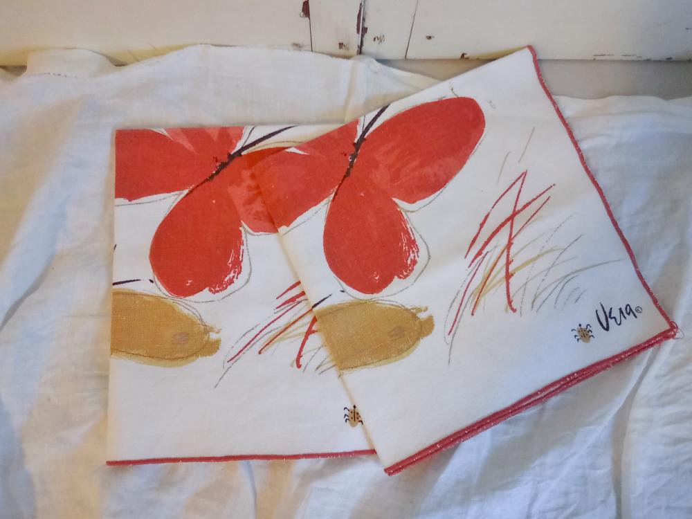 Vintage Vera napkins