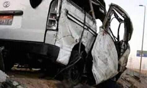 حادث مروع على الطريق بطما فى سوهاج