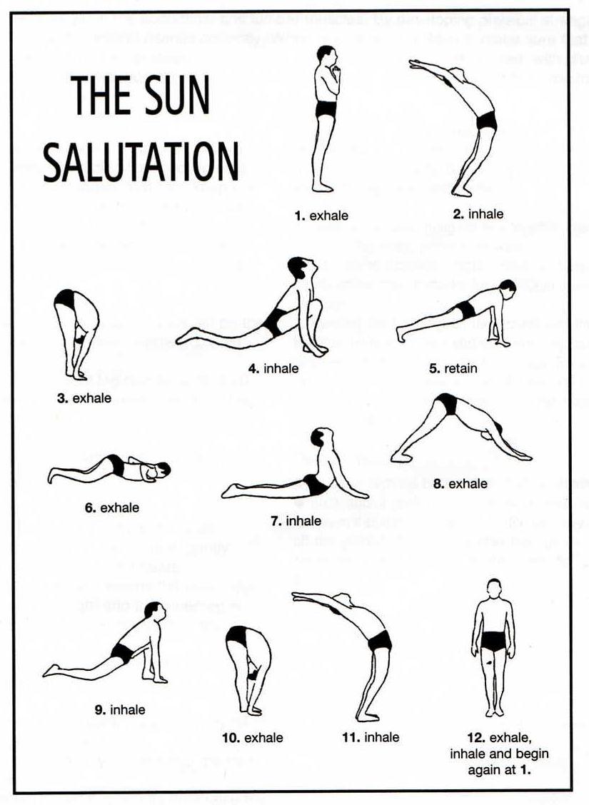 Préférence Hatha Yoga: Salutation au soleil YD57