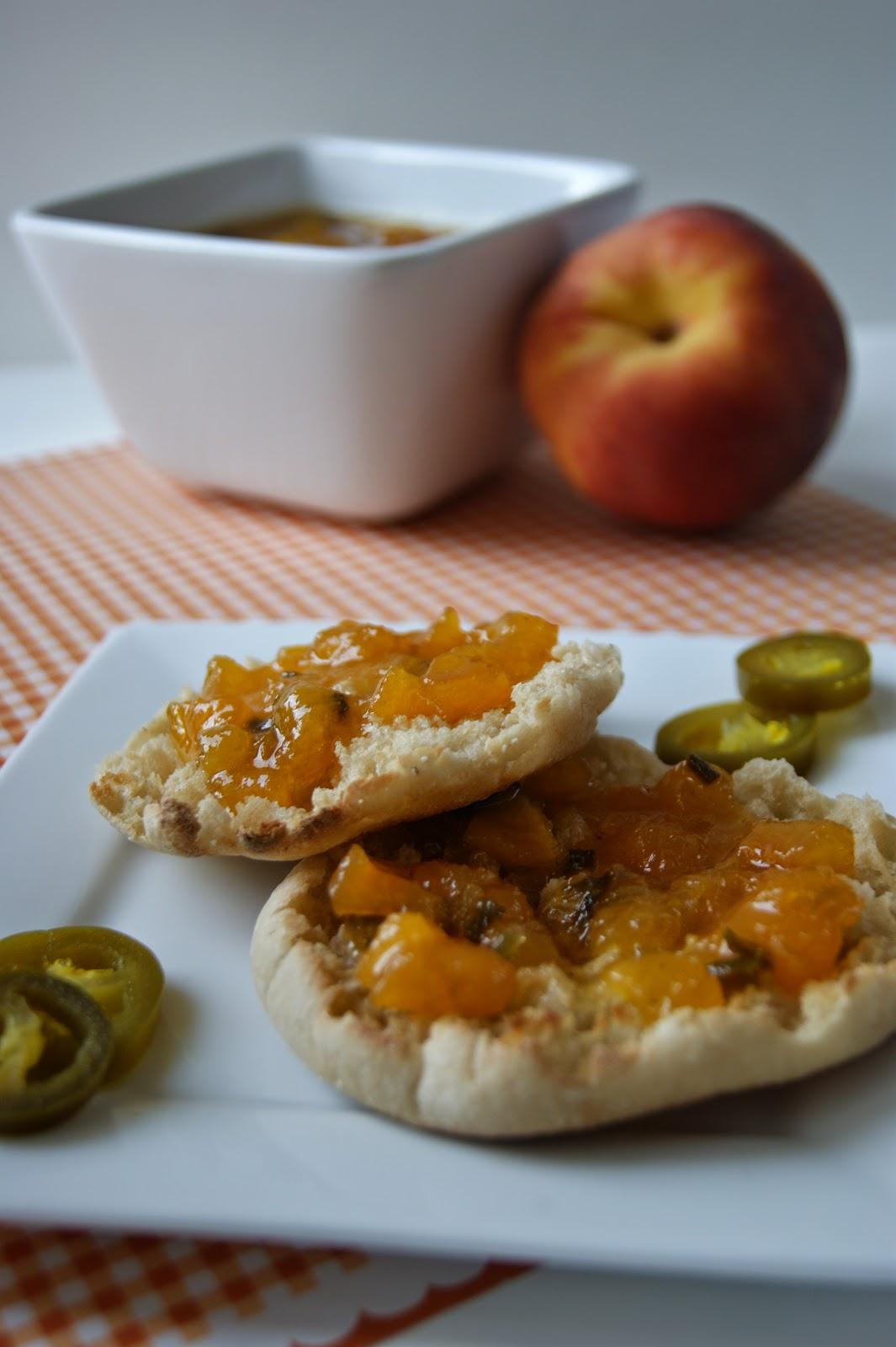 Peach Jalapeno Jam recipe