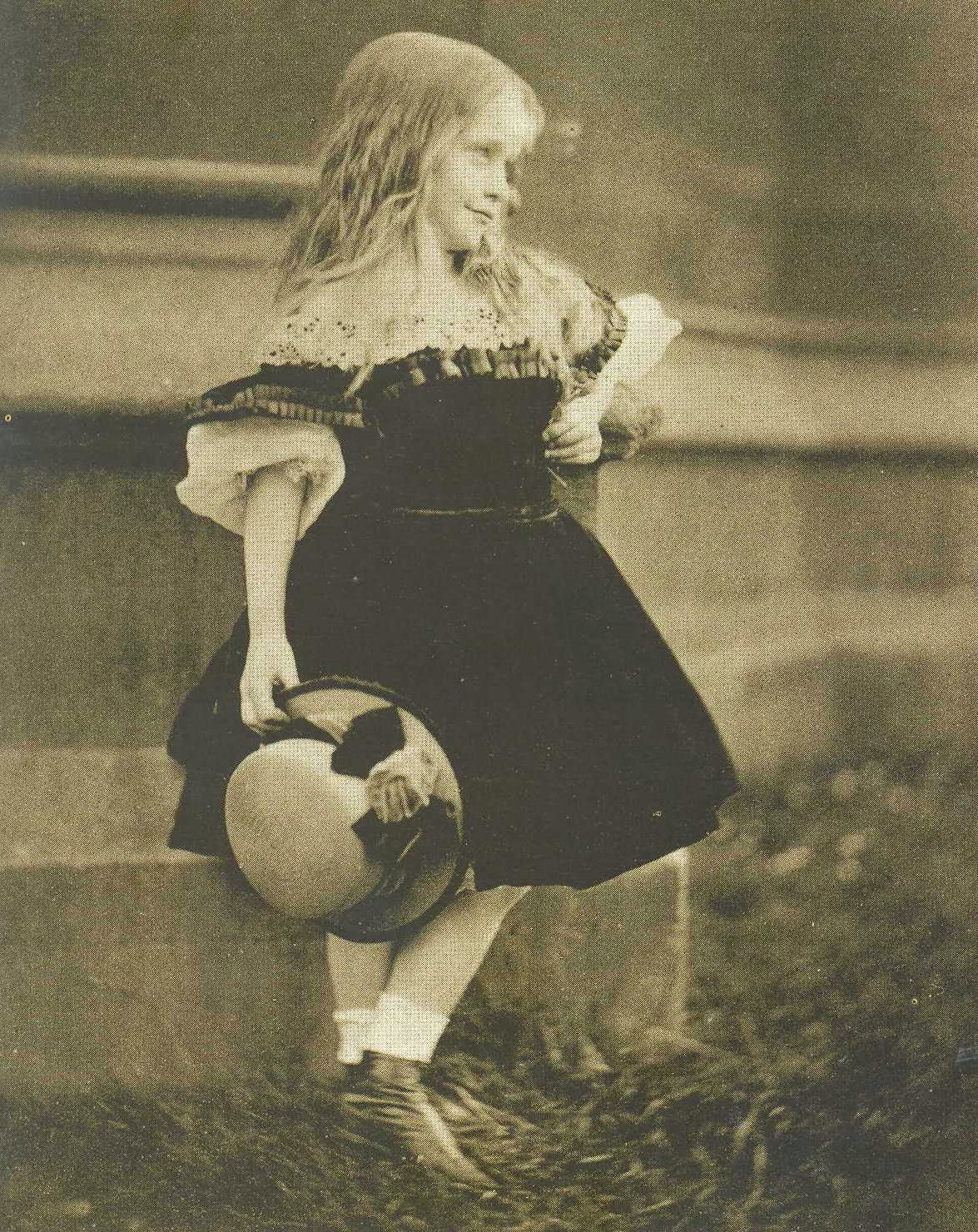 Vintage Blog Beatrice Henley By Lewis Carroll 1862