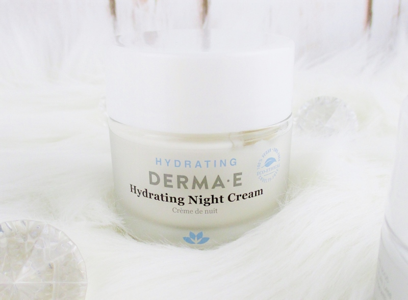 My Favorite Drugstore Winter Complexion Care for Dry and Mature Skin from Derma-E Hydrating Night Cream