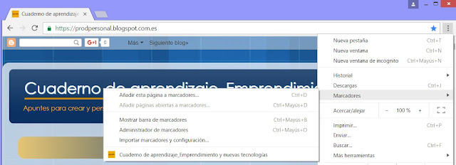 Favicon en Chrome