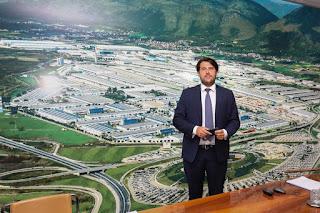 Il vice ministro Buffagni al Cis e all'Interporto di Nola
