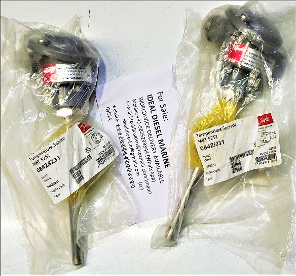 Danfoss Temperature Sensor MBT 5252-0011-0100-0300-0000 Sensor type: Pt100 Class B  Code no.: 084Z8231 Sensor Range: -50 to +200°C