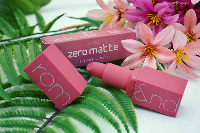 romand Zero Gram Matte Lipstick #10 Before Sunset Review