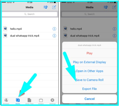 how to download videos from facebook to an iphone