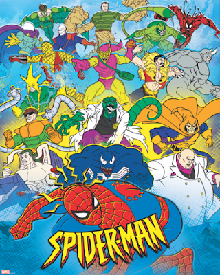 Spider-Man: The Animated Series Giclee Print by Grey Matter Art