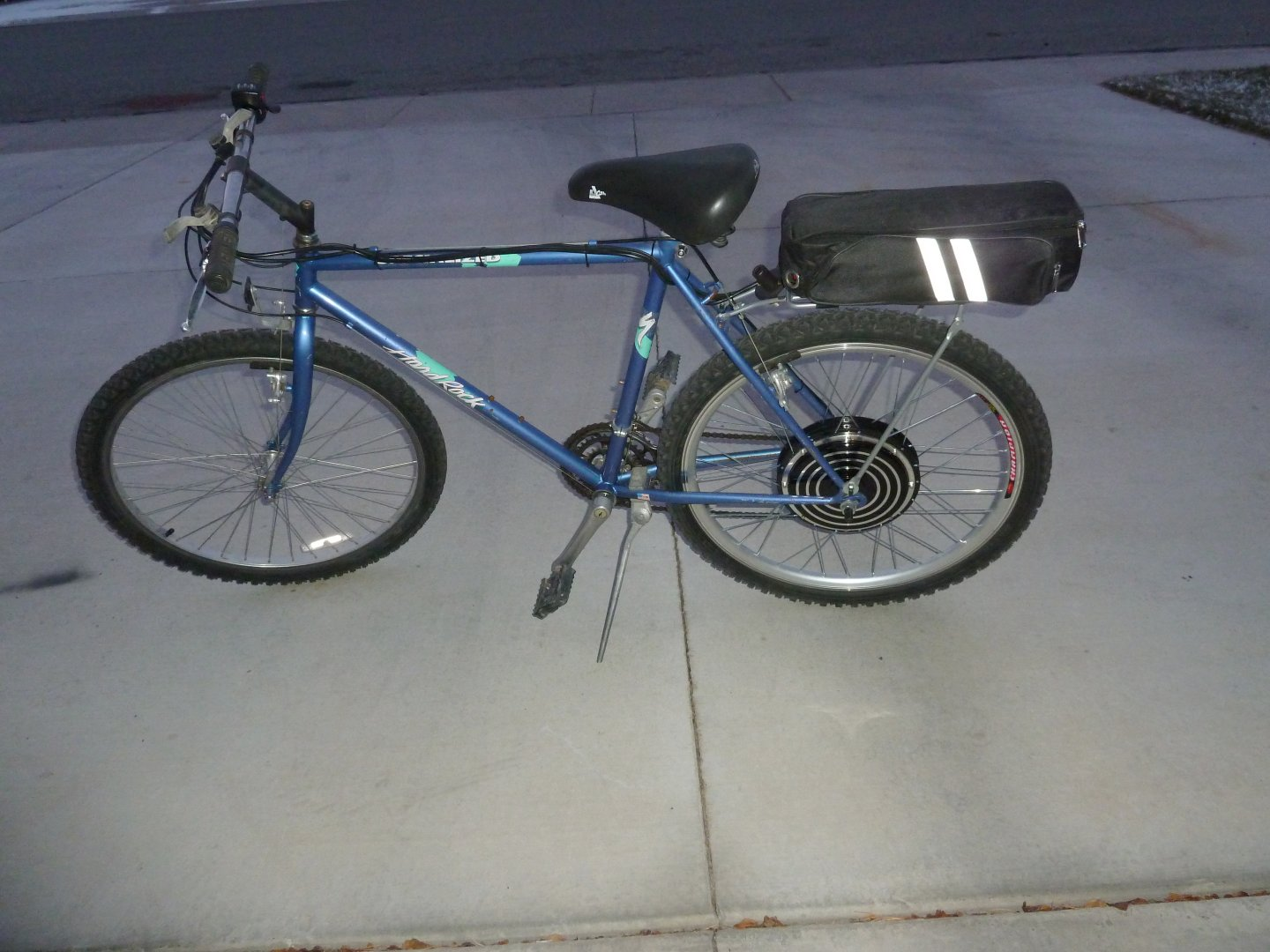 DIY Electric Bike: December 2011