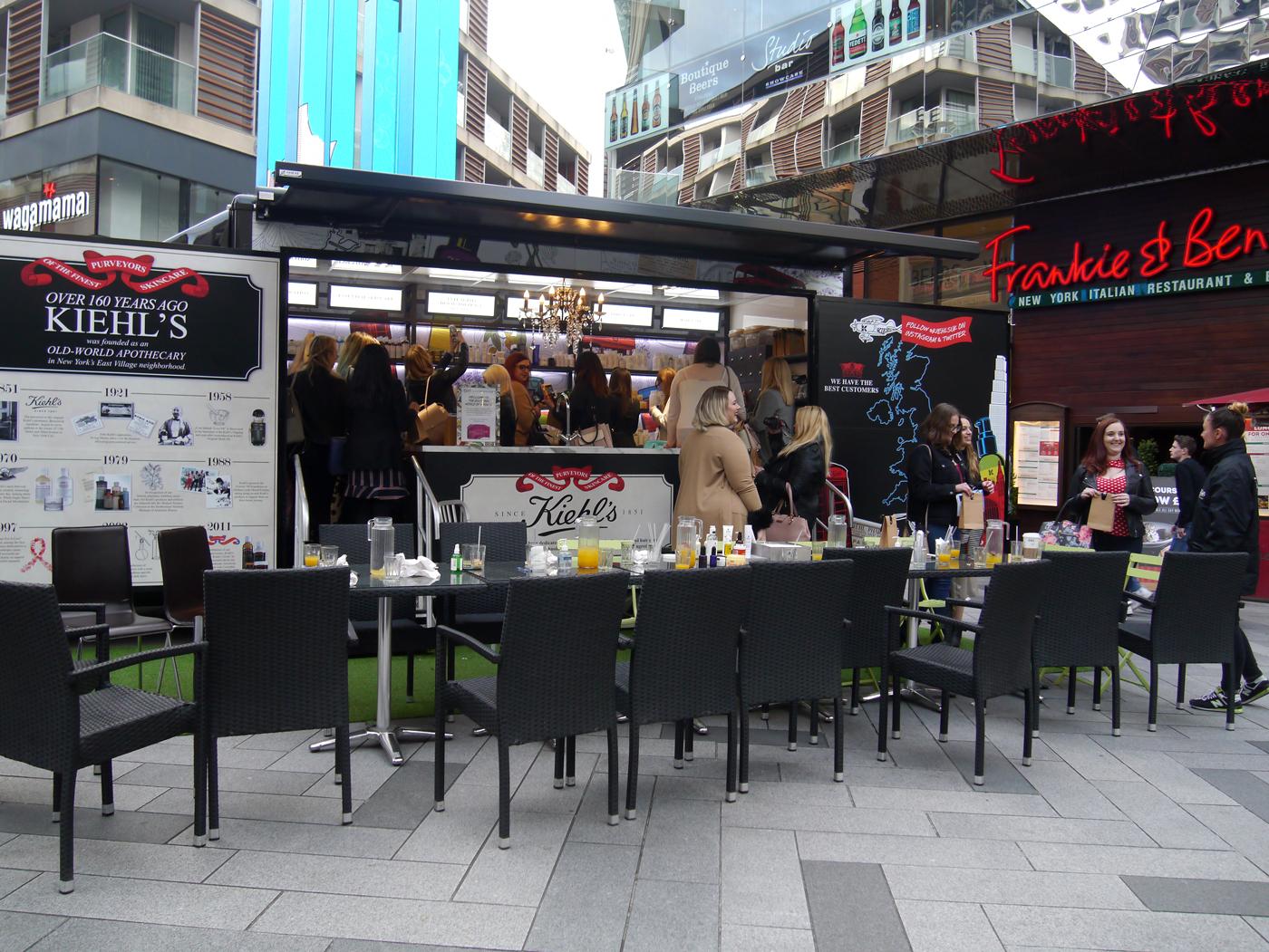 Kiehl's Leicester Event KiehlsOnWheels Bus