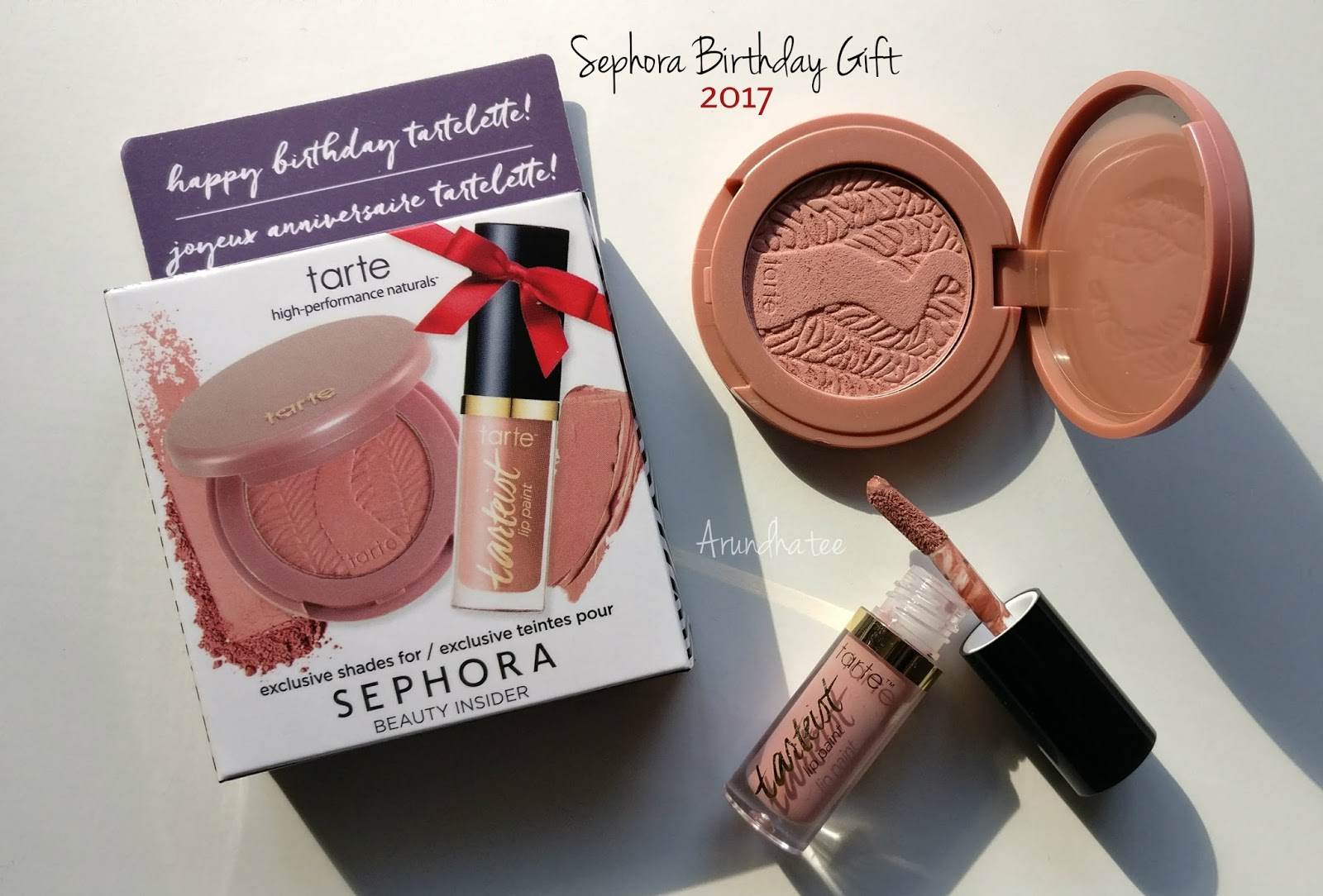 Discovering Me Sephora Birthday Gift