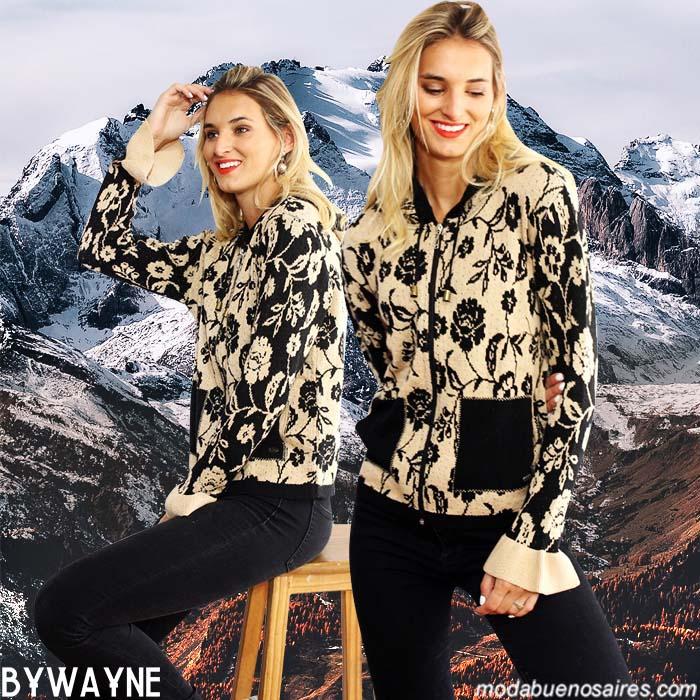 Sweaters, sacos, cardigans, ponchos. Moda invierno 2019 tejidos. Tejidos 2019. Moda mujer 2019.