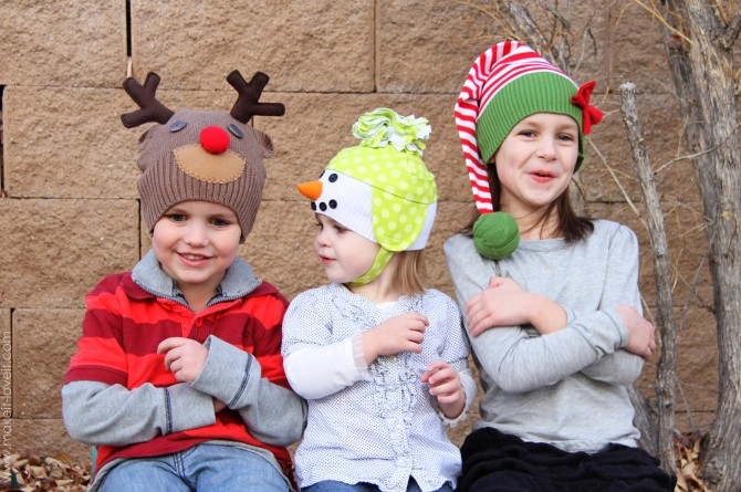 Шьем детскую шапку из свитера мастер класс для новичков #5