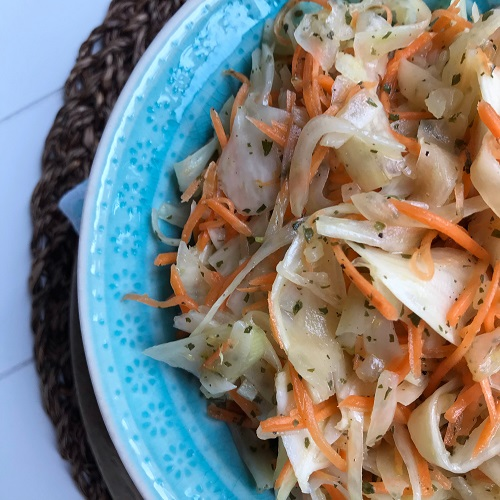 Fenchel-Möhren-Salat