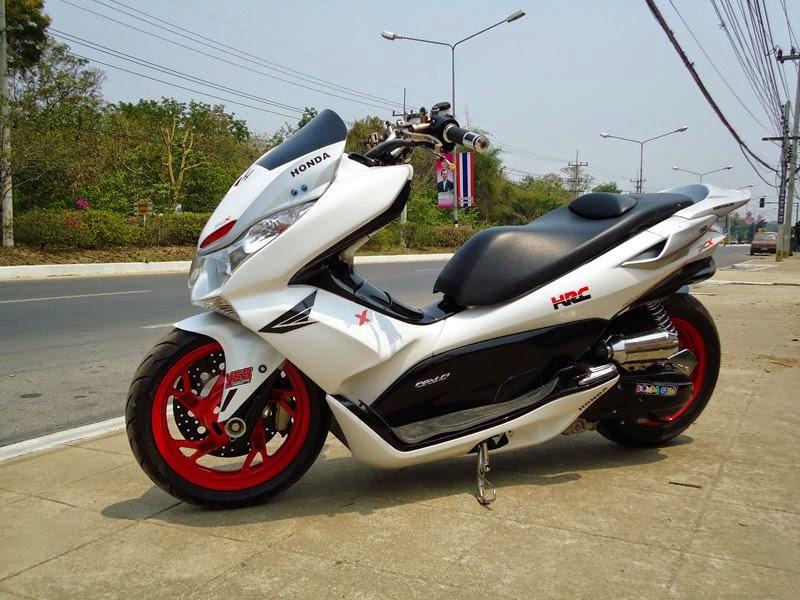 Galeri Modifikasi Motor Honda PCX 150 Terbaru  Modif