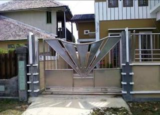 model kipas pagar stenlis