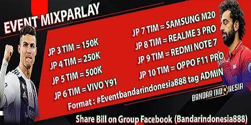 Event Mix Parlay Bandarindonesia Hadiah Hp