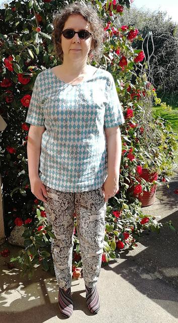 Creates Sew Slow: Style Arc Rosie Alice Top