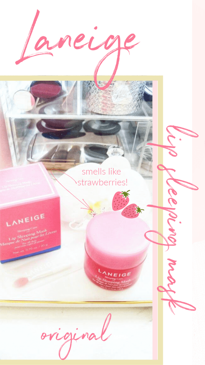 Why Do I Love the Laneige Lip Sleeping Mask?