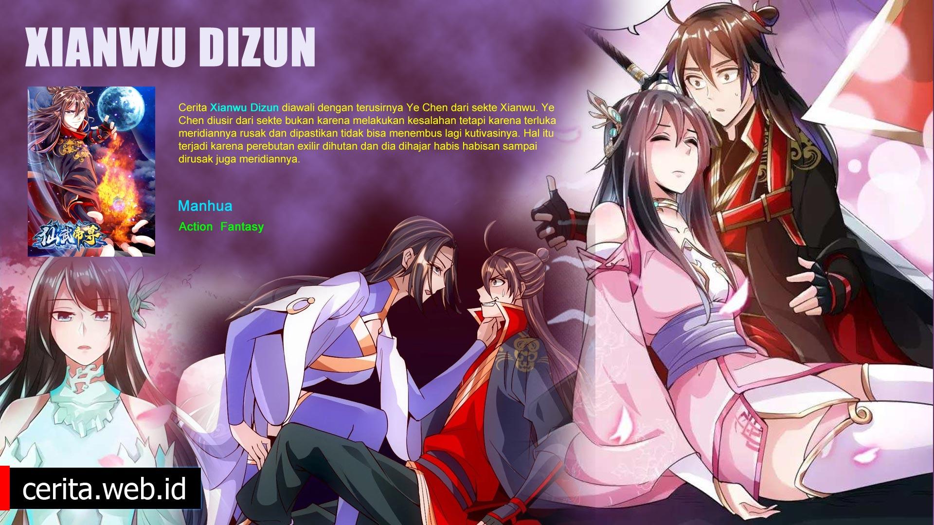 Sinopsis Xianwu Dizun Anime Tokoh Utama Diremehkan Padahal Kuat