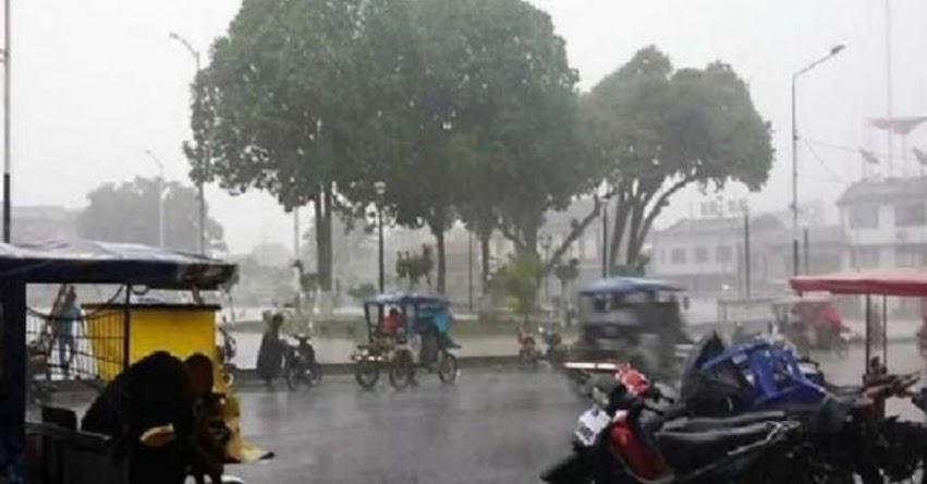 SENAMHI ALERTA: Selva soportará lluvia de moderada a fuerte intensidad desde mañana miércoles