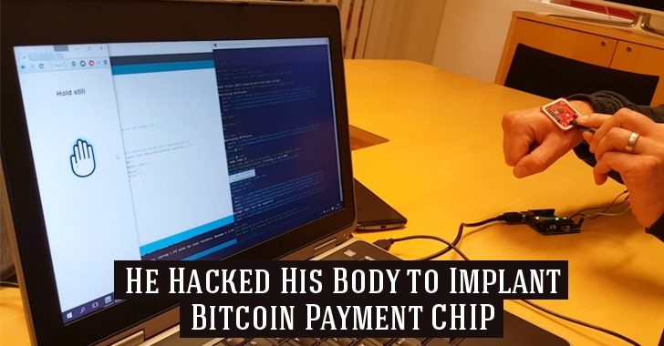 Meet The World's First Person Who Hacked His Body to Implant a Bitcoin Payment CHIP
