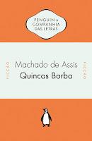 Capa do livro Quincas Borbas, de Machado de Assis (Penguin Companhia)