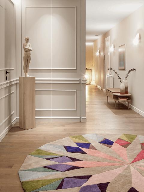 Дизайн-проекты. Изысканный интерьер в центре Барселоны